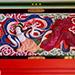 四枚の天女の彫刻が施されている中津宮拝殿