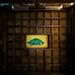 奥津宮拝殿天井の「八方睨みの亀」